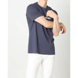 メンズ ゴルフ 半袖シャツ ADICROSS 半袖 グラフィックTシャツ GR5418 (ネイビー)