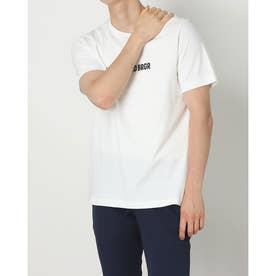 メンズ ゴルフ 半袖シャツ ADICROSS 半袖 グラフィックTシャツ GR5417 (ホワイト)