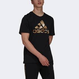 エッセンシャルズ カモフラージュ プリント 半袖Tシャツ /  Essentials Camouflage Print Tee (ブラック)