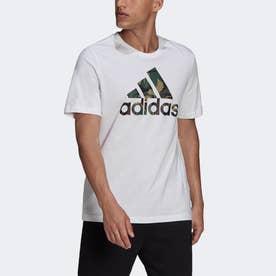 エッセンシャルズ カモフラージュ プリント 半袖Tシャツ /  Essentials Camouflage Print Tee (ホワイト)