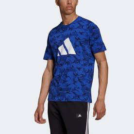 スポーツウェア フューチャー アイコンズ カモ グラフィック 半袖Tシャツ (マルチカラー)