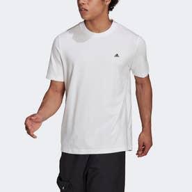 スポーツウェア コンフィー アンド チル半袖Tシャツ (ホワイト)