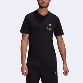 アスレティクス グラフィック 半袖Tシャツ / Athletics Graphic Tee (ブラック)