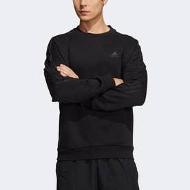 スポーツウェア スウェットシャツ (ブラック)