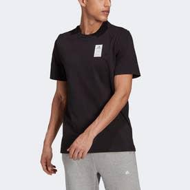 半袖グラフィックTシャツ (ブラック)