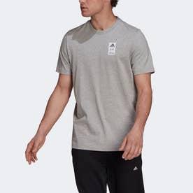 半袖グラフィックTシャツ (グレー)