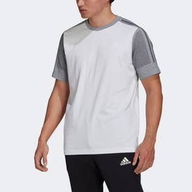 Z.N.E. スポーツウェア エアロニット 半袖Tシャツ (ホワイト)