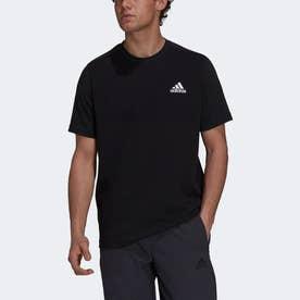 Z.N.E. スポーツウェア エアロニット 半袖Tシャツ (ブラック)