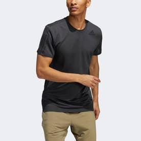 PRIMEBLUE AEROREADY 3ストライプス スリム半袖Tシャツ / Primeblue AEROREADY 3-Stripes Slim Tee (グレー)