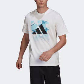 グラフィック 半袖Tシャツ (ホワイト)