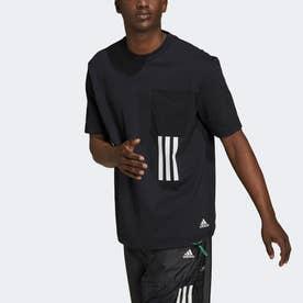 スポーツウェア Xシティ グラフィック 半袖Tシャツ (ブラック)