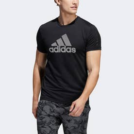AEROREADY ウォリアー 半袖Tシャツ (ブラック)
