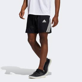 AEROREADY 3ストライプス 8インチ ショーツ / AEROREADY 3-Stripes 8-Inch Shorts (ブラック)