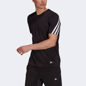 スポーツウェア フューチャー アイコンズ スリーストライプ 半袖Tシャツ (ブラック)