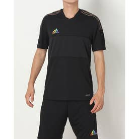 メンズ サッカー/フットサル 半袖シャツ GS4721 (ブラック)