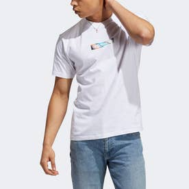 サマー リニア ボックスTシャツ (ホワイト)