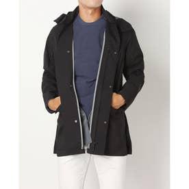 メンズ ゴルフ 長袖ウインドブレーカー ADICROSS ミドルレングス コート HB1611 (ブラック)