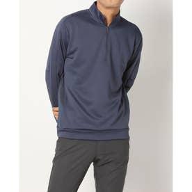 メンズ ゴルフ 長袖トレーナー ADICROSS 長袖ハーフジップスウエット GR6294 (ネイビー)