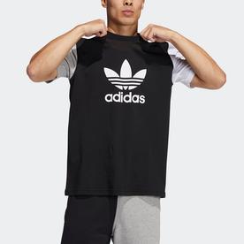 ブロック トレフォイル Tシャツ (ブラック)