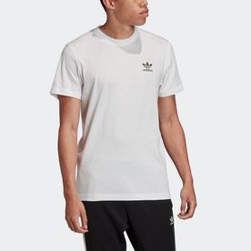 エッセンシャルズ 半袖Tシャツ (ホワイト)