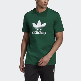 オリジナルス Tシャツ [TREFOIL TEE] (グリーン)