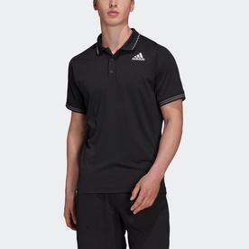 テニス フリーリフト プライムブルー ポロシャツ (ブラック)