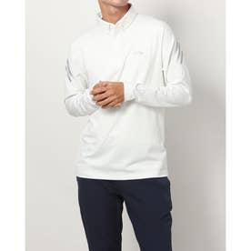 メンズ ゴルフ 長袖シャツ AERO.RDY ストレッチ長袖ボタンダウンシャツ GT3443 (ホワイト)