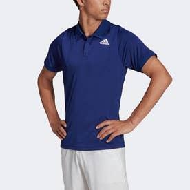 テニス フリーリフト ポロシャツ (ブルー)