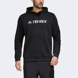 テレックス グラフィック ロゴパーカー (ブラック)