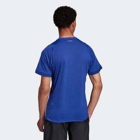 テニス フリーリフト 半袖Tシャツ (ブルー)