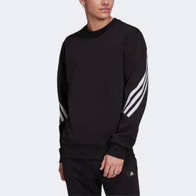スポーツウェア フューチャー アイコン スリーストライプス スウェットシャツ (ブラック)