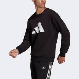 スポーツウェア フューチャー アイコン ウィンタライズド スウェットシャツ (ブラック)