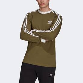 アディカラー クラシックス 3ストライプ 長袖Tシャツ (グリーン)