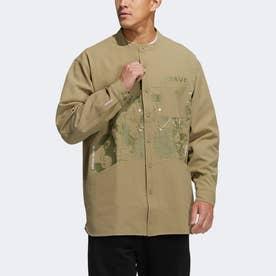 アーティスト シャツジャケット (グリーン)