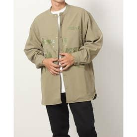 メンズ 長袖シャツ MPRSVEグラフィックウーブンジャケット H39865 (カーキ)