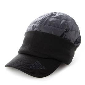 メンズ ゴルフ ニット帽子 COLD.RDY 中わた入り ウォームキャップ GU6138 (ブラック)