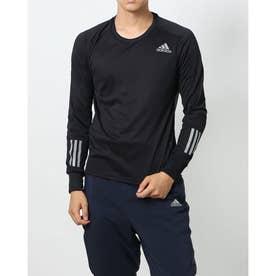 メンズ 陸上/ランニング 長袖Tシャツ OTR LS M GJ9977 (ブラック)