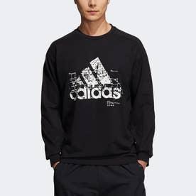 アーティスト 長袖 スウェットTシャツ (ブラック)