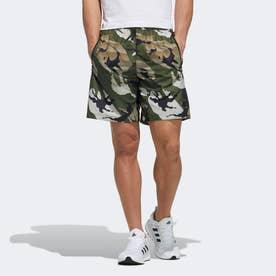 ウーブン カモ ショーツ / Woven Camo Shorts (ベージュ)