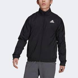 ウォーム テニスジャケット (ブラック)