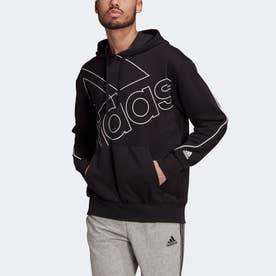 ジャイアントロゴパーカー(ジェンダーニュートラル)/ Giant Logo Hoodie (Gender Neutral) (ブラック)