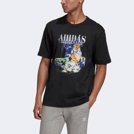 ファッションTシャツ (ブラック)