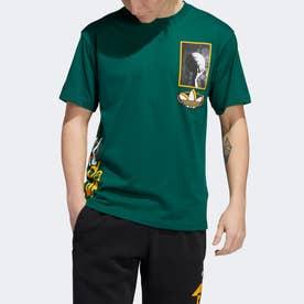 ストリートボール マルチヒット 半袖Tシャツ (グリーン)