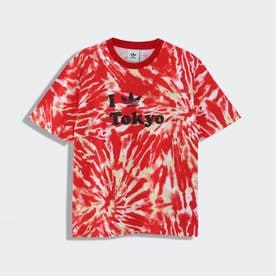 MFT タイダイTシャツ (レッド)