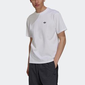 スケードボーディング 4.0 ロゴ Tシャツ (ホワイト)