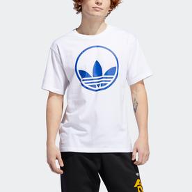 サークル トレフォイル 半袖Tシャツ (ホワイト)