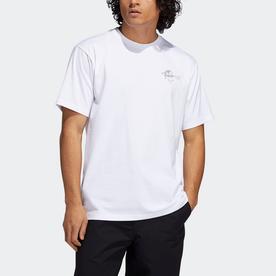 ザ アンサー イズ ネバー 半袖Tシャツ (ホワイト)