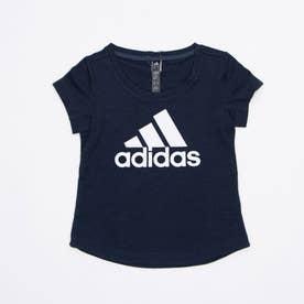 半袖Tシャツ YGAERORDYLOGOTEE GM8385 (ブラック)