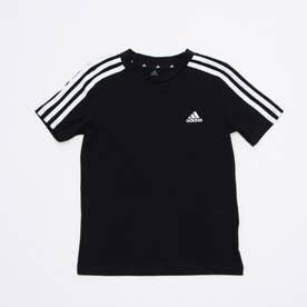 半袖Tシャツ BESS3ストライプスTシャツ GN3995 (ブラック)