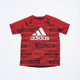 半袖機能Tシャツ YBSPORTSAOPTEE GP0754 (レッド)